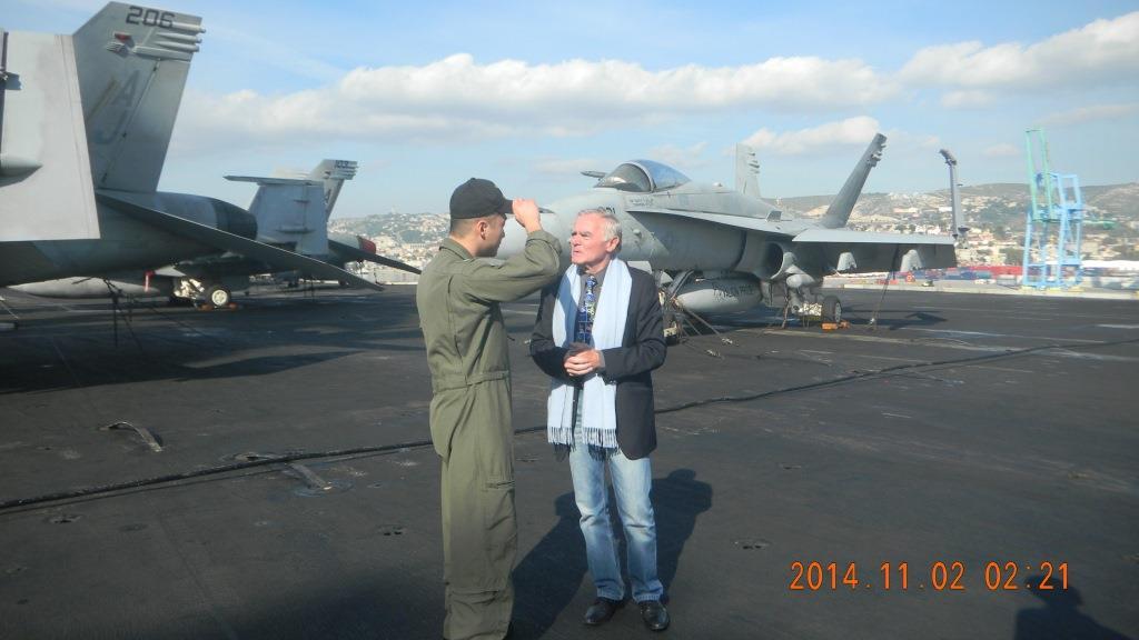 Visite du Porte-Avions Bush - France �tats-Unis - Toulon Var-Ouest